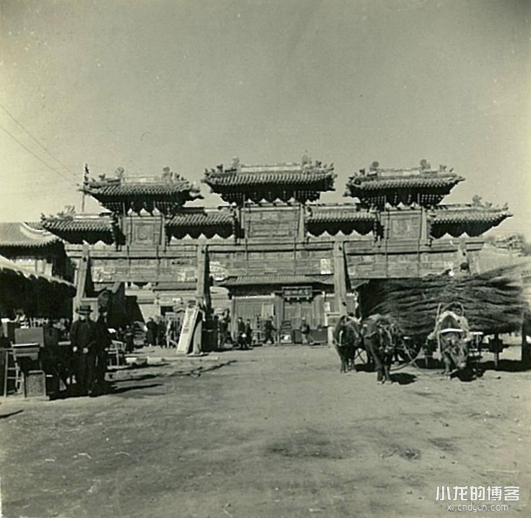 八十年前的呼和浩特席力图召(延寿寺)